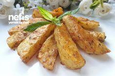 Körili Bol Çeşnili Fırın Patates