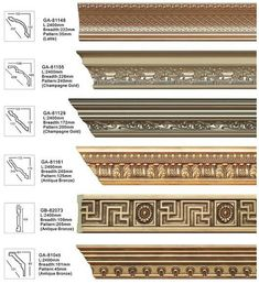 Cornice Moulding, Crown Molding, Classic House Exterior, Wedding Stage Design, Classic Architecture, Classic Interior, Border Design, Ceilings, Living Room Decor