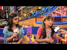 Madisyn Shipman & Cree Cicchino at Nickelodeon's Game Shakers Set Visit We were on set of #Nickelodeon's #GameShakers with @CreeCicchino & @MaddieMoo_Hoo #CastInterviews