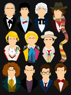 eleven faces of dr who