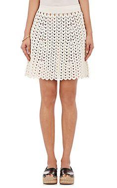 Spencer Vladimir Crochet Miniskirt - Mini - Barneys.com