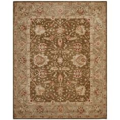 Safavieh Anatolia AN512F Brown Area Rug   http://www.arearugstyles.com/safavieh-anatolia-an512f-brown-area-rug.html