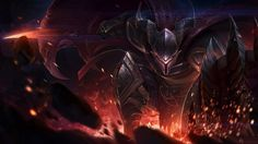 Dragonslayer Pantheon League of Legends Armor Shield 1920x1080