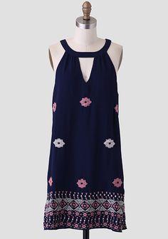 Chimayo Embroidered Dress at #Ruche @Ruche