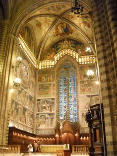 Orvieto Cathedral, Umbria, Italy  I'd would die for my wedding here!!!