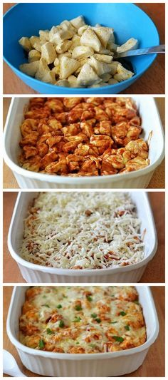 BBQ Chicken Bubble-Up Bake Cooked it for 20 more minutes than recipe called for, and was still doughy Easy Baked Chicken, Baked Chicken Recipes, Bbq Chicken Bake, Cooking Recipes, Healthy Recipes, Cooking Stuff, Grill Recipes, Delicious Recipes, Chicken And Biscuits
