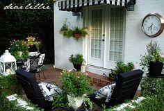 Beautiful patio gardens