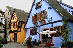 アルザスの街並みの魅力がギュッと詰まったフランスの最も美しい村『リクヴィール』 | wondertrip