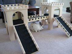 "Bunny Castle Set - ""Heart"" design"