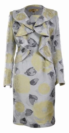 Kasper Women's Floral Business Suit Dress  Jacket Set Suggested Price: $320.00 Price: $189.99   You Save: $130.01 (40%)  100% Polyester No close jacket Dress with concealed back zipper Fully lined: 100% Polyester Dry clean only