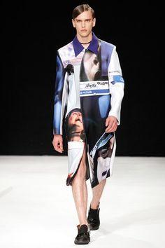 Xander Zhou SS 2014 #Facebook #coat #LCM