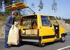 Volvo Electric Car, 1977. Volvo's first environmental concept car