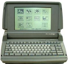 次に買ったのがこれ。文豪mini5。1990年ごろだったかな。