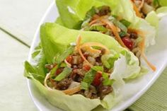 Carbless-Low Calorie Turkey Lettuce Wraps
