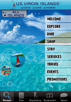 Need a vacation? My Virgin Islands, the official app for the U.S. Virgin Islands, makes it easy to plan your escape to St. Croix, St. Thomas, or St. John. Find hotels, campgrounds, local events, restaurants, and services. Familiarize yourself with local customs like tipping practices, driving regulations, and even taxi fares. My Virgin Islands lets you browse travel options for reaching your destination and getting around once you arrive.