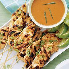 Chicken Satay #myplate #protein