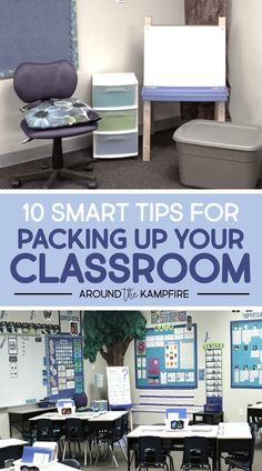 How to pack up your classroom at the end of the year for easier set up next year! A FREE end of the year teacher checklist is included in this post, plus great tips for classroom management and organization at the end of the year. Teaching Jobs, Teaching Activities, Teaching Strategies, Classroom Activities, Classroom Organization, Classroom Management, Classroom Ideas, First Year Teachers, New Teachers