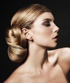 the perfect elegant #wedding updo for long, thick hair #style