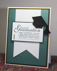 Happy Graduation, Gregory by CAKath - Cards and Paper Crafts at Splitcoaststampers