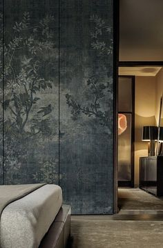 This is too dark, cool and serious, but the paper is magical. Carta da parati WALL&DECÒ | Collezione 2015 | Midsummer Night