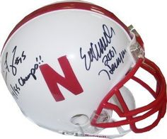 Eric Crouch signed Nebraska Cornhuskers Quarterback Greats Replica Mini Helmet w/Frazier w/inscriptions . $145.35. Tommie Frazier led the Nebraska Cornhuskers to back-to-back consensus national championships in 1994 and 1995, and he remains the only quarterback to have done so since the 1950s. In 2001, Eric Crouch had his best year yet, breaking school or NCAA records almost weekly and appearing to be a serious contender for the Heisman Trophy. Crouch became only the fourth playe...