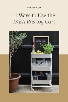 The compact, rolling device is ideal for creating makeshift storage in small spaces like bathrooms and studio apartments — but people also find highly specific ways to hack the Raskog to fit their lives. Let's take a look at these genius ways to use it. Ikea Raskog Cart, Ikea Cart, Outdoor Bar Cart, Outdoor Parties, Outdoor Entertaining, Dinner Room, Nursery Storage, Amazing Bathrooms, Studio Apartments
