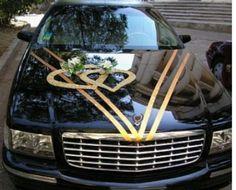 decoración auto negro