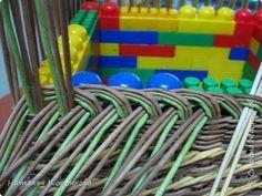 Мастер-класс Поделка изделие Плетение Еще один вариант бортика под крышку Салфетки Трубочки бумажные фото 8