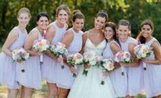 How Many Bridesmaids, Bridesmaid Dresses, Wedding Dresses, Fashion, Bridesmade Dresses, Bride Dresses, Moda, Bridal Gowns, Fashion Styles