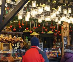 eating at  budapest christmas market fair - from Best Hungarian Food and Treats at the Budapest Christmas Market Fair