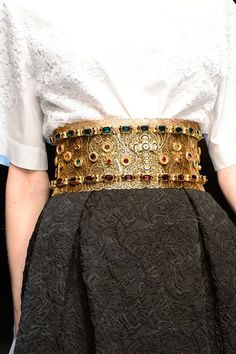 Rosamaria G Frangini | High Accessories | DG belt