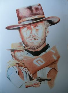 Clint Eastwood The Good The Bad & The Ugly Ltd. edition print in DVDs, Films & TV, Film Memorabilia, Posters | eBay