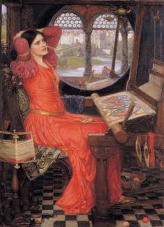 John William Waterhouse - 'I am half sick of shadows' said The Lady of Shalott