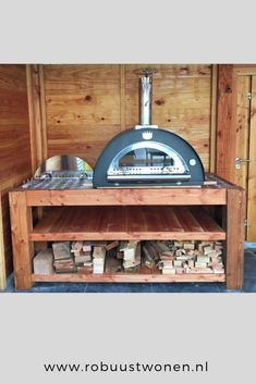 Pizza Ovens, Wood Fired Oven, Firewood, Barbecue, Liquor Cabinet, Interior Design, Ideas, Home Decor, Wood Burning Oven