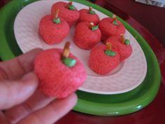 apple sugar cookie bites!
