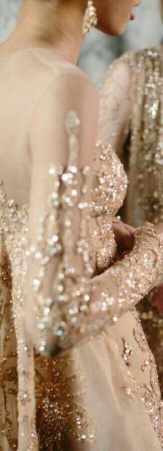 61 Ideas Dress Elegant Gold Elie Saab For 2019 Elie Saab Bridal, Elie Saab Couture, Elie Saab Spring, Pale Dogwood, Ellie Saab, Lesage, Princess Wedding Dresses, Fancy Pants, Beautiful Gowns