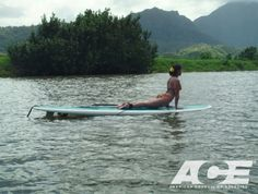 SUP Yoga - Courtesy of Jessica Matthews, American Council on Exercise