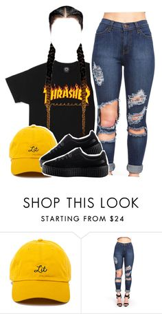 """Cigarettes on cigarettes"" by queen-tiller ❤ liked on Polyvore featuring Puma"