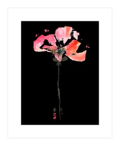 Pretty Poppy Art Print