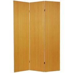 Tall Frameless Bamboo Room Divider   OrientalFurniture.com