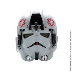 STAR WARS Standalone AT-AT Driver Helmet Accessory - Standard Line (Pre-Order) | ANOVOS Productions LLC Offered for the first time on its own is the Standard Line version of the Star Wars™ AT-AT Driver Helmet Accessory.