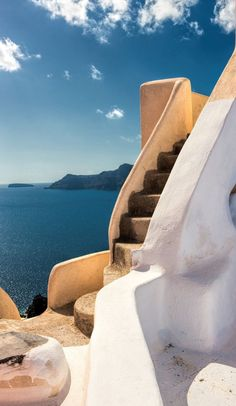 Steps to the sky. Santorini island, Greece - Selected by www.oiamansion.com