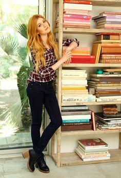 Katherine McNamara ✾ for Wallflower Jeans 2016 Katherine Mcnamara, Beautiful Red Hair, Beautiful Redhead, Beautiful Gorgeous, Beautiful Women, Clary Fray Outfit, Divas, Wallflower Jeans, Ginger Girls