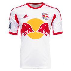 a042306f288 2013 Red Bulls Home White Soccer Jersey Shirt