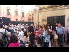 Cristo Resucitado a su llegada a la Catedral. Agrupación Musical La Estr...