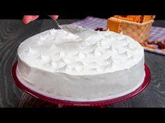 400 ml Fanta! Legjobb sütés nélküli finomság, kivétel nélkül| Ízletes TV - YouTube Biscuits, Cake Pops, Food And Drink, Baking, Cake, Deserts, Cream Pie, Tasty, Pies