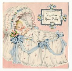 Vintage Greeting Card c1946-1947