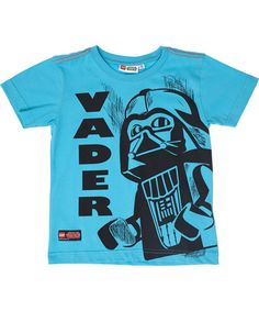 Cool LEGO Darth Vader turquoise t-shirt