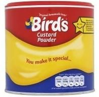 """TRIED :-) Apparently Bird's Custard Powder is dairy- and egg-free.  """"Did you know that Bird's Custard, first invented way back in 1837 by Alfred Bird, came about because his wife could not eat the traditional custard which was made with eggs because she had an egg allergy?"""""""