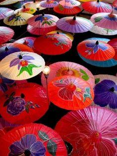 Japanese umbrella by mainki